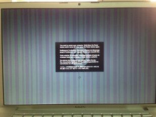 Macbook A1229 / A1261 Grafikkarte Reparatur